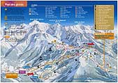 Interactive piste map