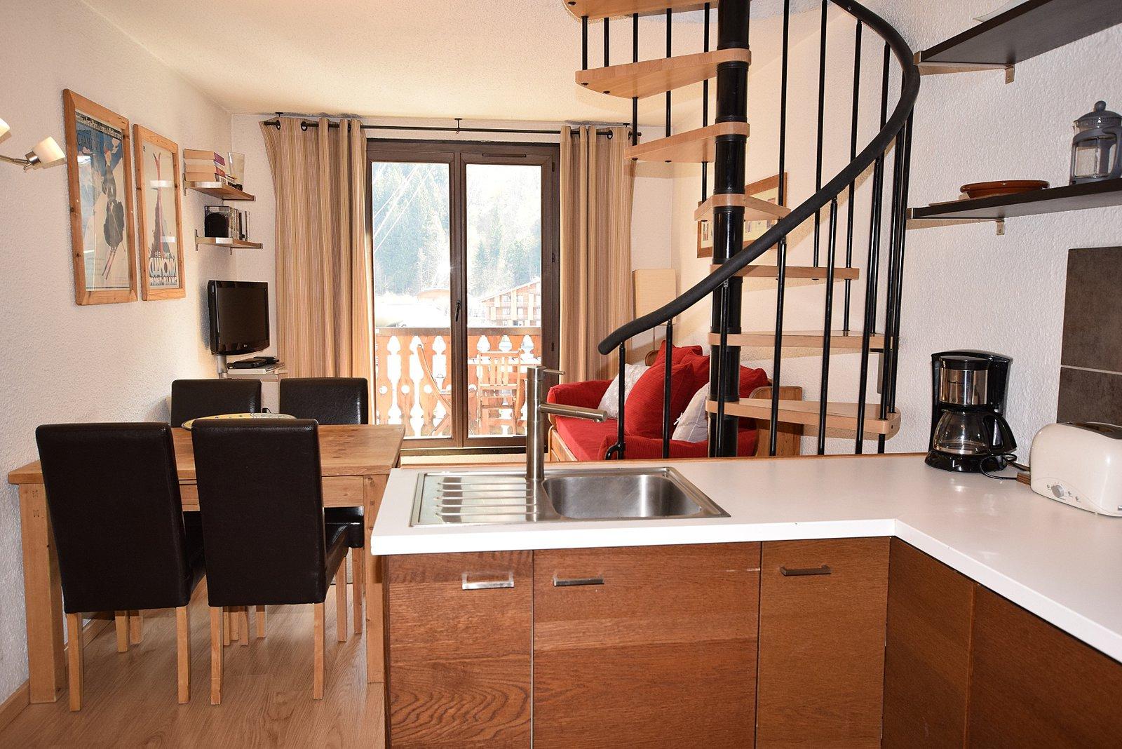 d'Aiguille Seasonal Apartment, Chamonix: Winter Let