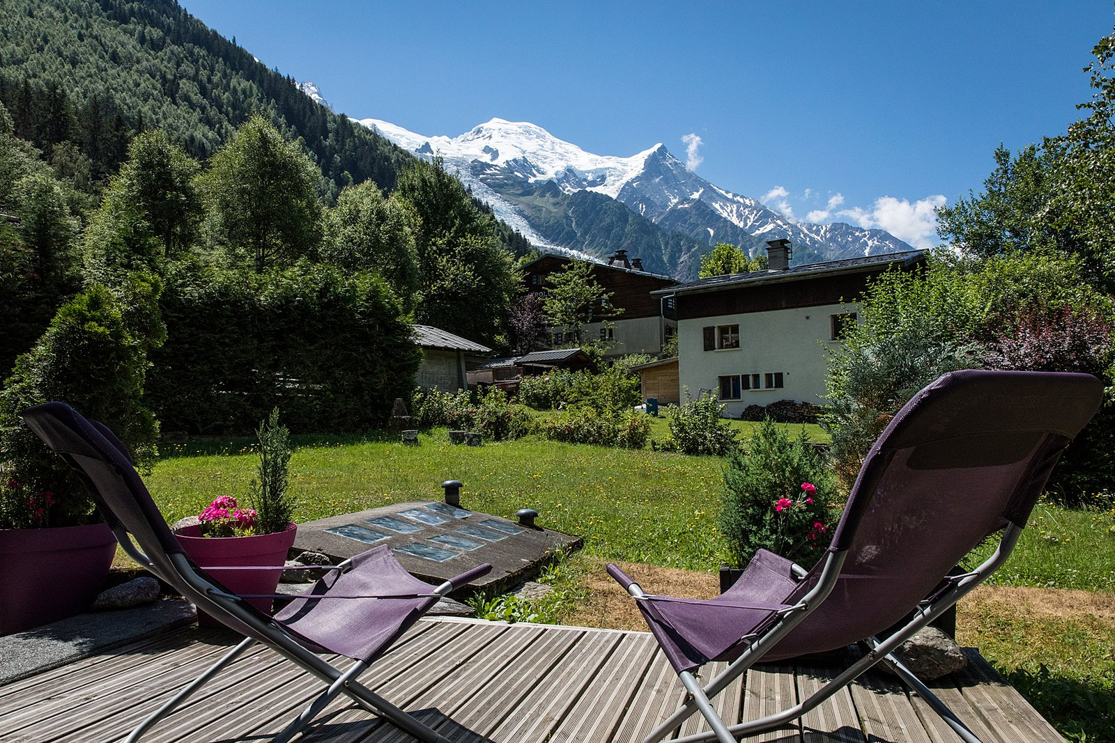 Cry Apartment, Chamonix: Self-catering accommodation