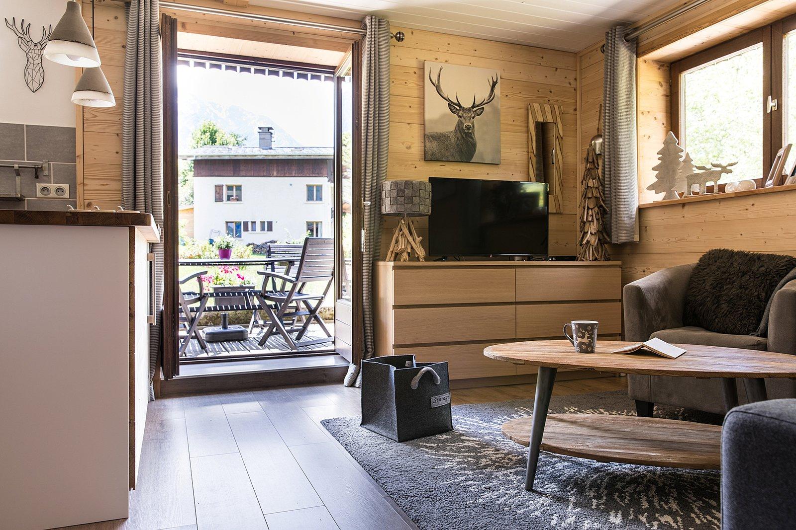 Cry Apartment, Chamonix: Self-catering accommodation