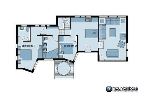 Alpins Floorplan (ground floor)